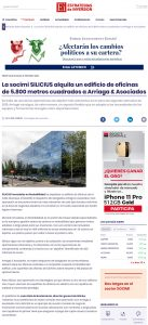La socimi SILICIUS alquila un edificio de oficinas de 5.800 metros cuadrados a Arriaga & Asociados   Estrategias de Inversión