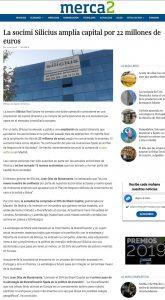 La socimi Silicius amplía capital por 22 millones de euros | Merca2