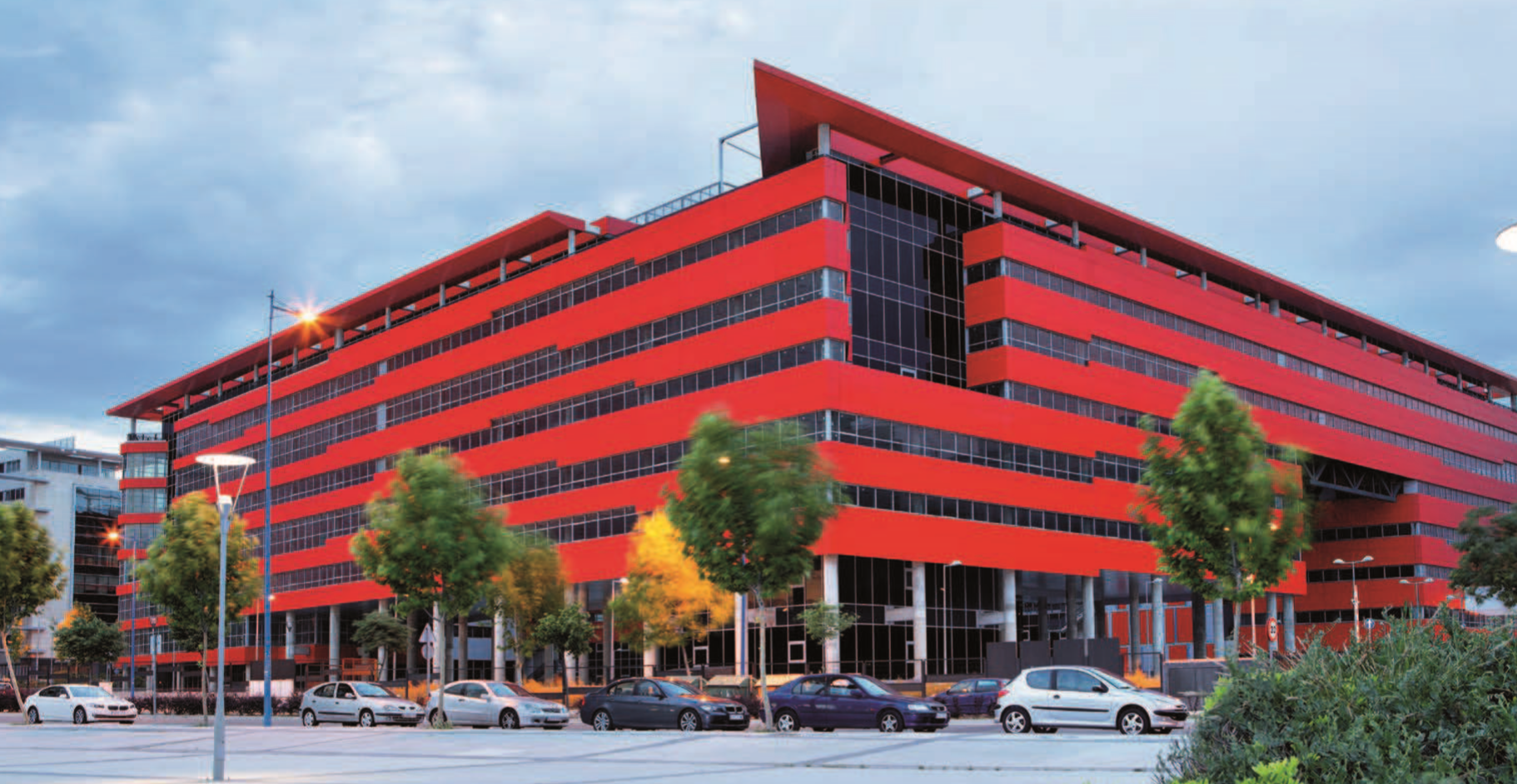 SILICIUS signs another non-monetary contribution, a 45,100 sqm office building in Madrid with 1,200 parking lots